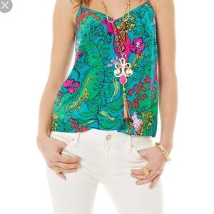 Lilly Pulitzer Shake Your Tail Feather Cami